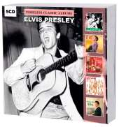 Timeless Classic Albums. Elvis Presley. 5 CD