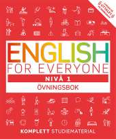 English for everyone Nivå 1 Övningsbok av Thomas Booth