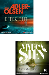 MP3 CD-paket Sten/Adler Olsen